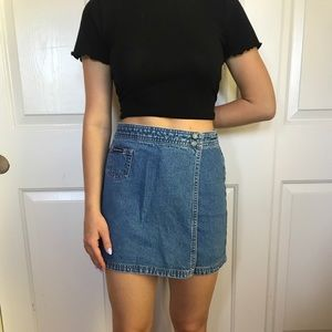 Union bay vintage jean shorts/skirt